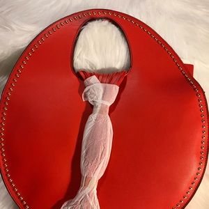 "Handbags - ♥️♥️♥️""NEW Red Tassel Tote❤️💋"
